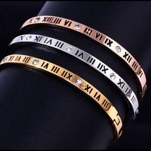 Roman Cuff Bracelet